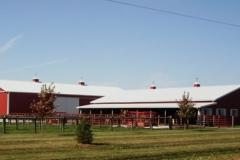 Hagie Bull Barn and Hay shed