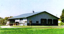 Dennis Clock Horse Barn Stables/Storage  60' X 60'  Uni I Structural System